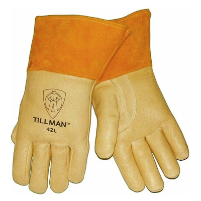 Guante Tillman 42, Soldadura Mig, Piel De Cerdo Premium