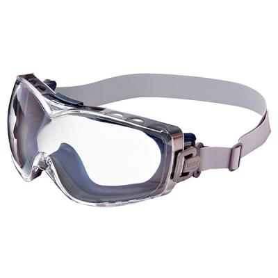 Goggle Uvex Stealth Otg, Marco Azul-marino, Mica Clara Hydroshield, Banda-neopreno