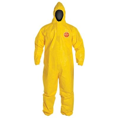 Overol Dupont Tychem 2000, Costura-simple, Capucha, Elasticos