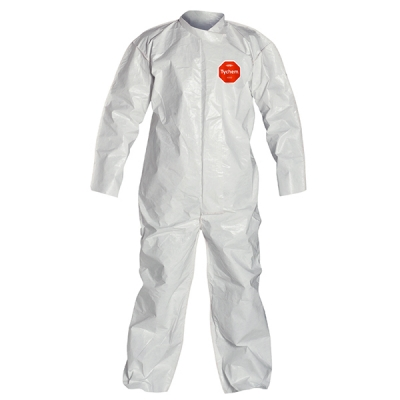 Overol Dupont Tychem 4000, Costura-unida, Solapa, Sin-elasticos