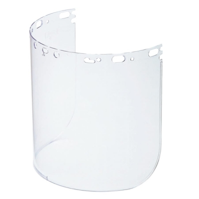 Visor Protecto-shield, Claro, Propionato Moldeado, 8.5 X 15 X 0.07-in