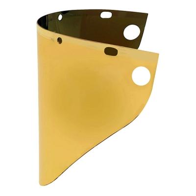 Visor High Performance, Mica Reflejante De Oro, 9.75-in X 19-in X 0.06-in