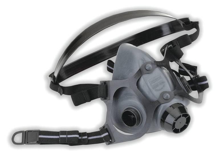 Respirador De Media Cara North Serie 5500